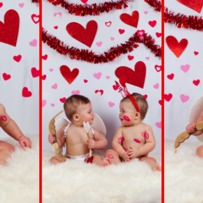 DIY Valentines Baby Photoshoot