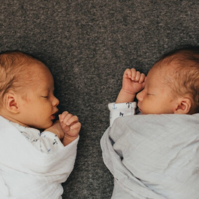 The Twin's Newborn Phootshoot