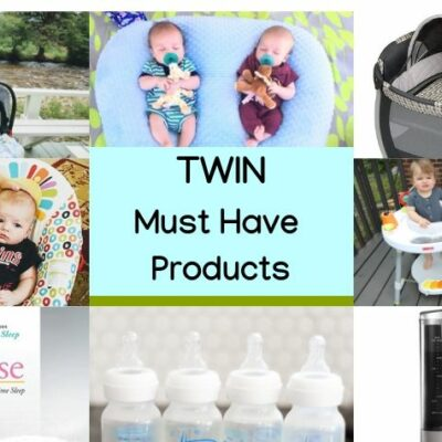 8 of the best must have products for twins