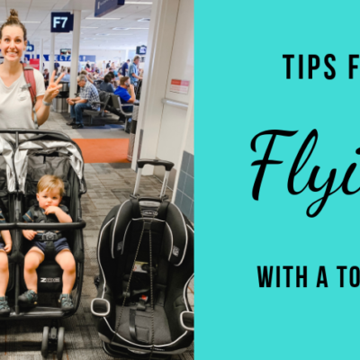 13 Tips for Flying with a Toddler