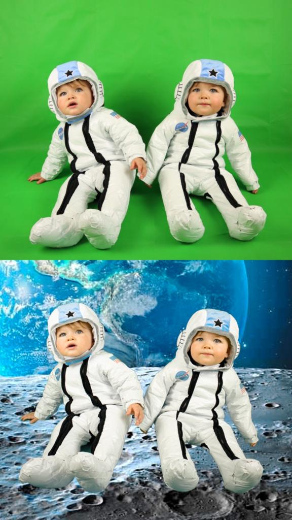 Astronaut Baby Photoshoot