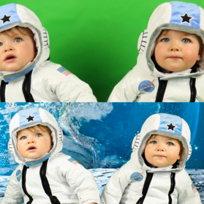 DIY Astronaut Baby Photoshoot