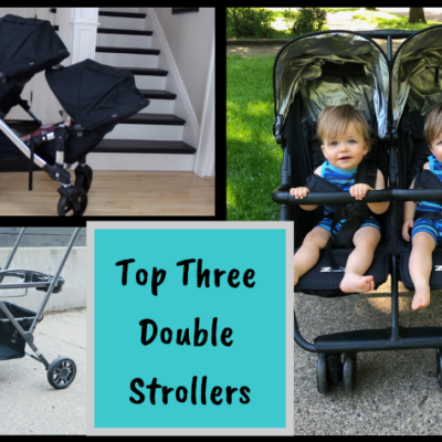 My Top 3 Double Strollers For Twins