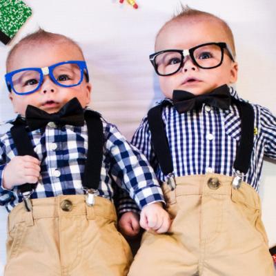 DIY Nerd Baby Photoshoot