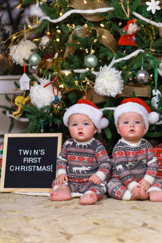 Christmas picture ideas for your baby