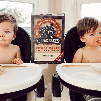 Kodiak Cakes: My favorite waffle mix!