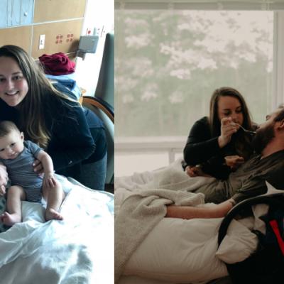 Meet Kelsey: Widowed with a newborn