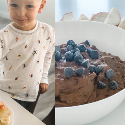 Healthy Kids Snack: Brownie Batter Hummus