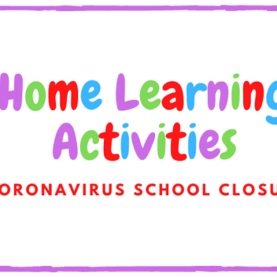 Home learning activities for kids due to coronavirus