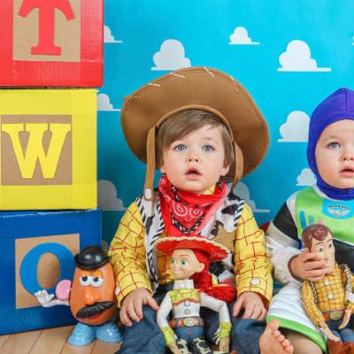 DIY Toy Story Photoshoot