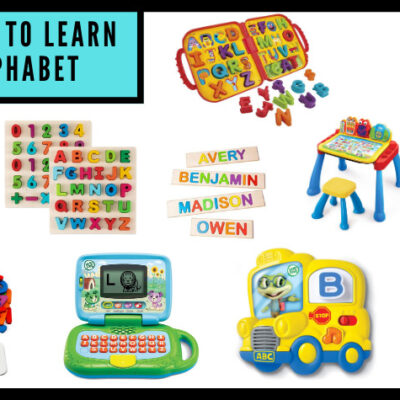 10 of The Best Alphabet Learning Toys For Toddlers