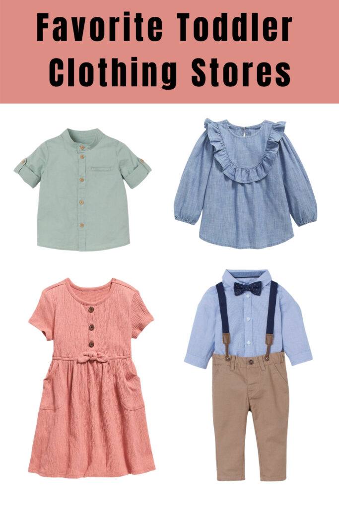 My favorite Affordable Baby and Kids Clothing Stores 2021