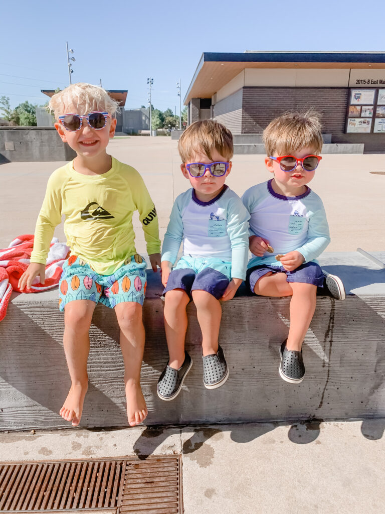 Toddler swimming essentials for the summer