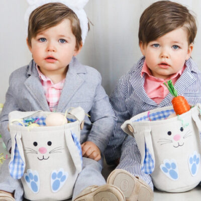 How to create a fun Easter photoshoot of your toddler