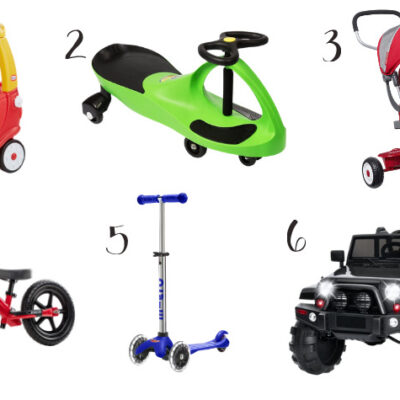 6 of the best toddler bike and ride on toys