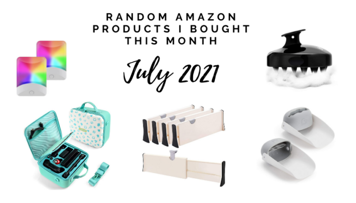 Random but useful Amazon products I bought in July