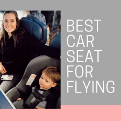 The Best Lightweight Car Seat for Flying