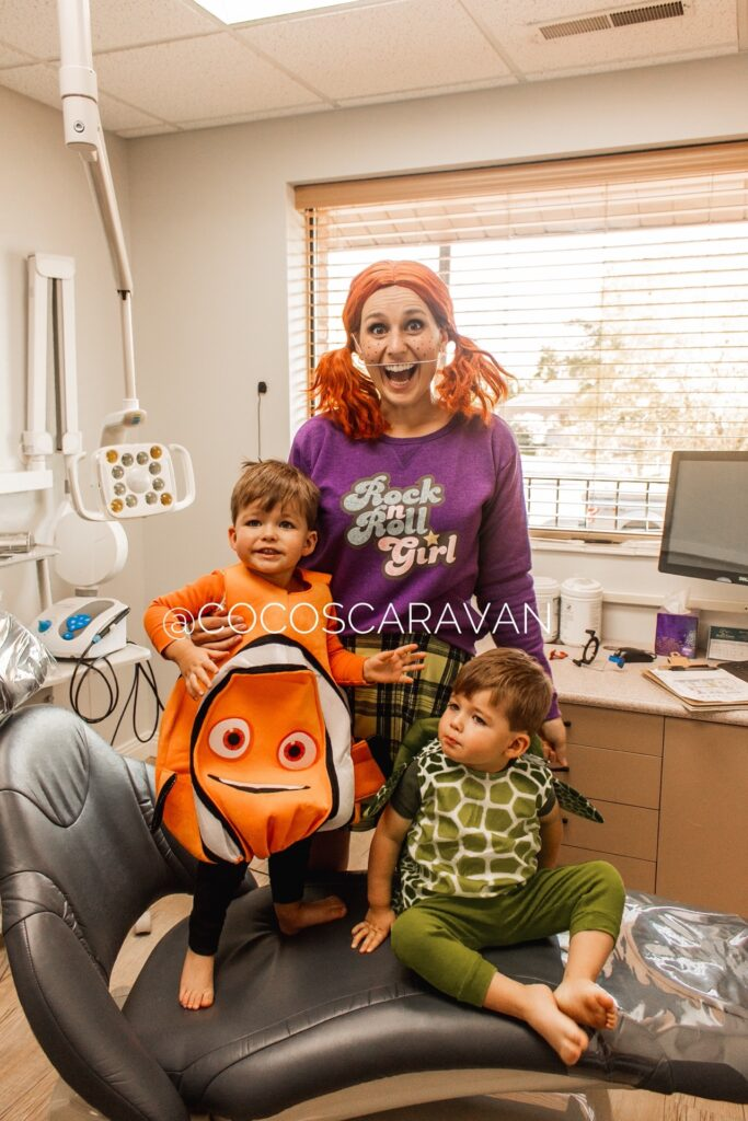 How to make Darla costume from Finding Nemo