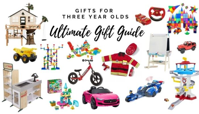 Gifts for three year olds: Ultimate gift guide